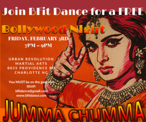 BFit Jumma Chumma Bollywood Night