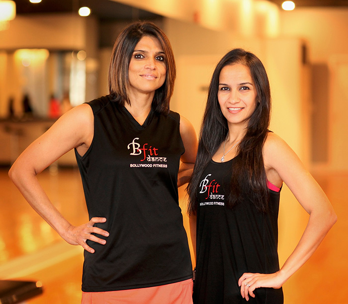 BFit Dance Bollywood Fitness Founders and Instructors, Ashima Kodali and Seher Khanna