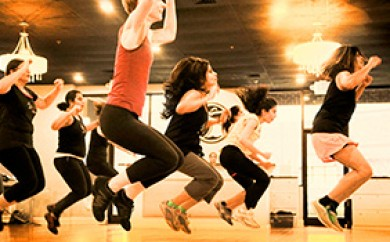 Get fit with friends at BFit Bollywood Fitness in South Charlotte, NC