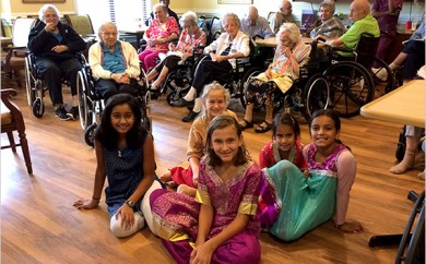 BFit Brings Bollywood Dance to Senior Center